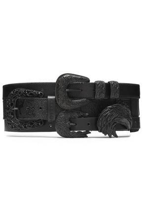 MAISON MARGIELA Ebellished leather belt