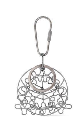 MAISON MARGIELA Silver-tone keychain