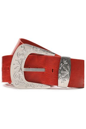 MAISON MARGIELA Distressed leather belt