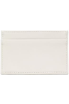 CLARE V. Leather cardholder