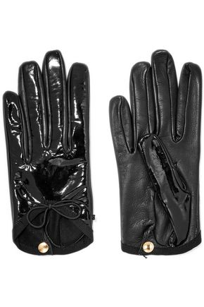 CAUSSE GANTIER Patent-leather gloves