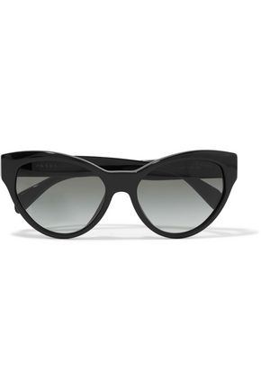 PRADA Cat-eye acetate sunglasses