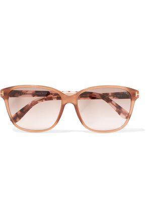 TOM FORD D-frame tortoiseshell acetate sunglasses