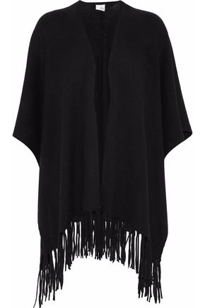 IRIS AND INK Francis fringed cashmere wrap