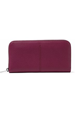 TOD'S Pebbled-leather wallet