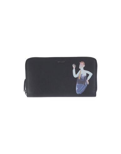 BALLY メンズ 財布 ブラック 牛革