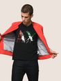 ARMANI EXCHANGE SHATTERED ITALIA LOGO TEE Logo T-shirt Man a