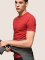 ARMANI EXCHANGE Camiseta de algodón Pima [*** pickupInStoreShippingNotGuaranteed_info ***] a