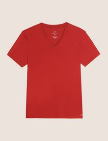 ARMANI EXCHANGE PIMA V-NECK TEE Pima Tee [*** pickupInStoreShippingNotGuaranteed_info ***] r