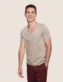 ARMANI EXCHANGE PIMA V-NECK TEE Pima Tee Man a