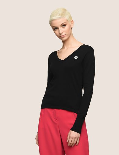 ARMANI EXCHANGE V-Neck Woman F
