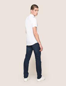 ARMANI EXCHANGE SHORT-SLEEVE STRETCH SLIM-FIT SHIRT Short sleeve shirt Man e