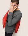 ARMANI EXCHANGE OPTICAL ILLUSION LOGO SWEATSHIRT Fleece Top Man a