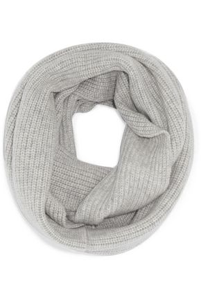 N.PEAL Ribbed cashmere snood