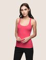 ARMANI EXCHANGE CLASSIC RIB RACERBACK TANK S/L Knit Top Woman f