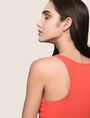 ARMANI EXCHANGE CLASSIC RIB RACERBACK TANK S/L Knit Top Woman b