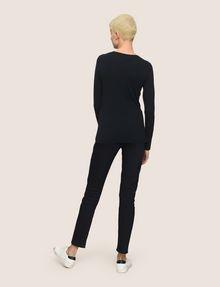ARMANI EXCHANGE EMOJI LOGO CREWNECK SWEATER Pullover Woman e