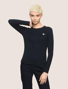 ARMANI EXCHANGE EMOJI LOGO CREWNECK SWEATER Pullover Woman f