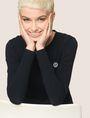 ARMANI EXCHANGE EMOJI LOGO CREWNECK SWEATER Pullover Woman a