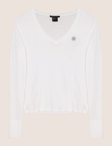 ARMANI EXCHANGE V-Neck Woman R