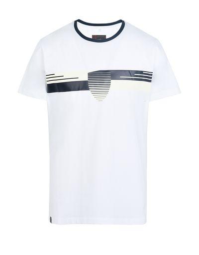 Scuderia Ferrari Online Store - Men's short-sleeve stretch cotton T-shirt - Short Sleeve T-Shirts
