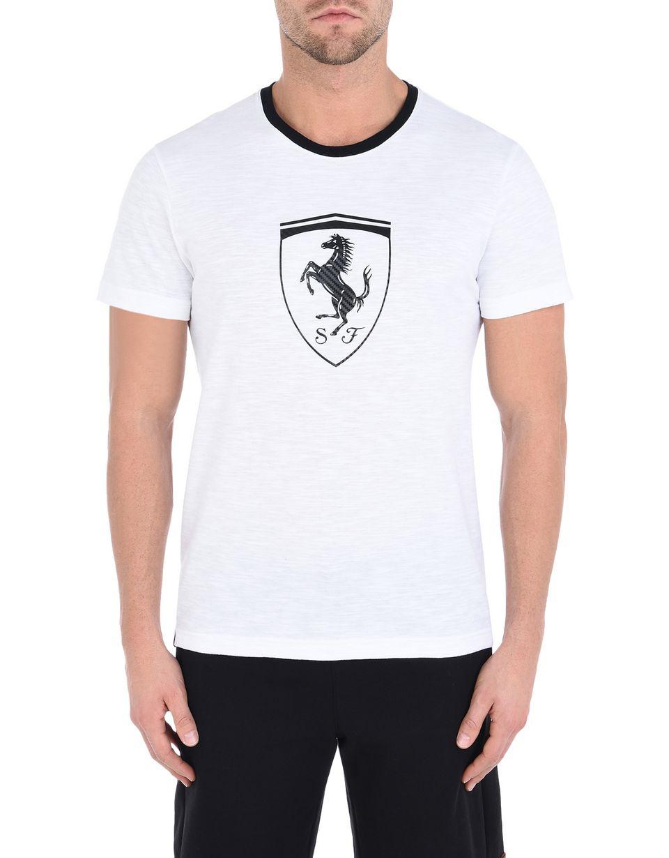 Scuderia Ferrari Online Store - T-shirt Scuderia Ferrari con stampa - T-shirt manica corta