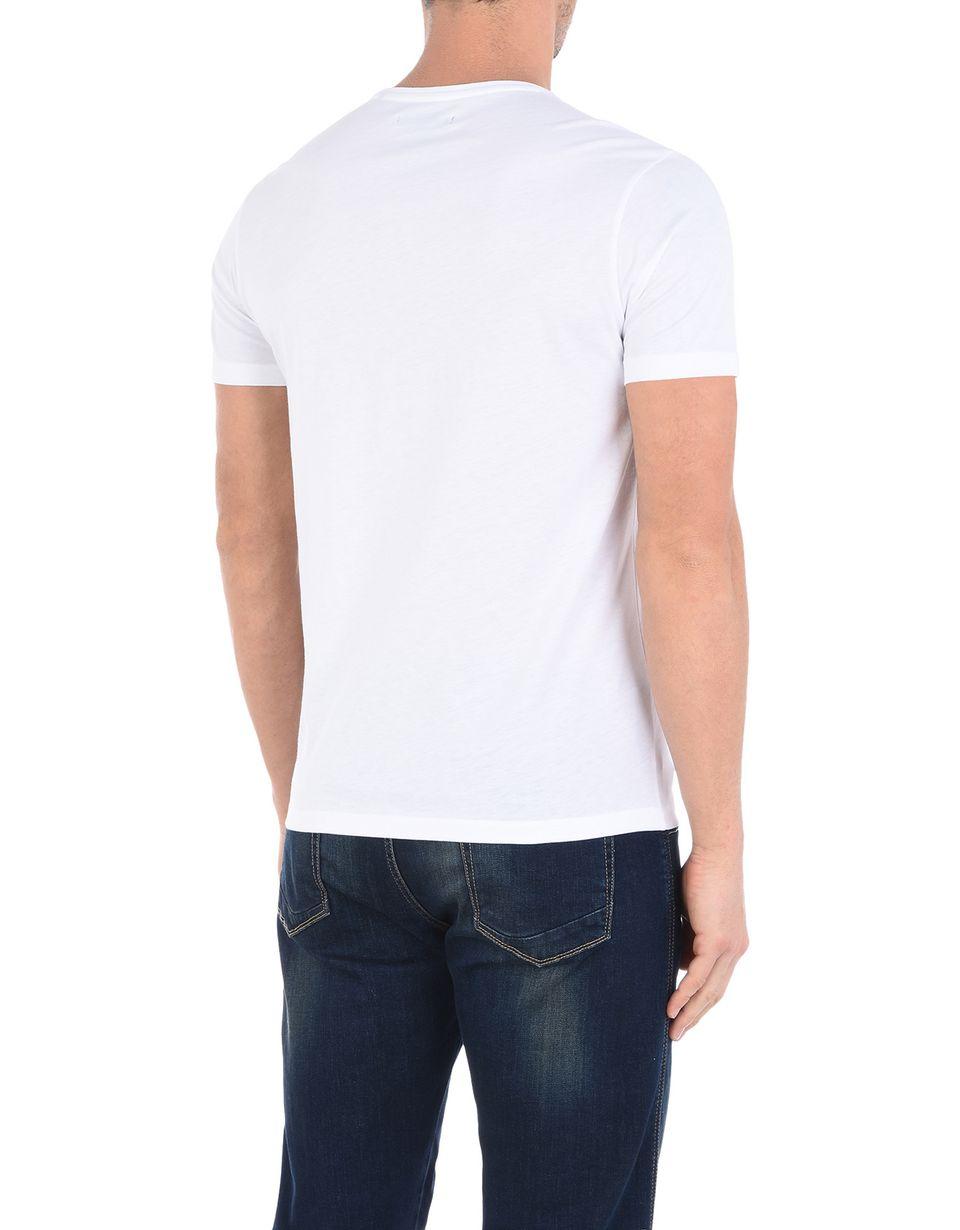 Scuderia Ferrari Online Store - T-shirt à col rond Formule 1 avec imprimé Ferrari - T-shirts à manches courtes
