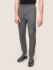 ARMANI EXCHANGE WELT POCKET LOGO JOGGER Fleece Pant Man f