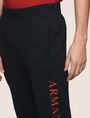 ARMANI EXCHANGE WELT POCKET LOGO JOGGER Fleece Pant Man b