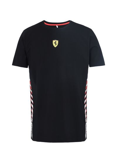 Scuderia Ferrari Online Store - Men's T-shirt with print on the sides -