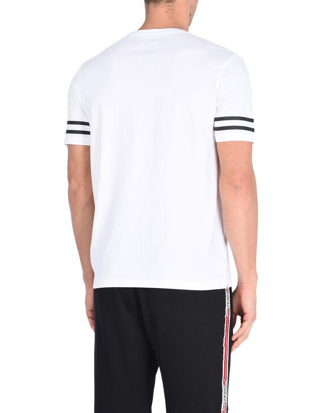 Scuderia Ferrari Online Store - Мужская хлопковая футболка с принтом - Футболки с короткими рукавами
