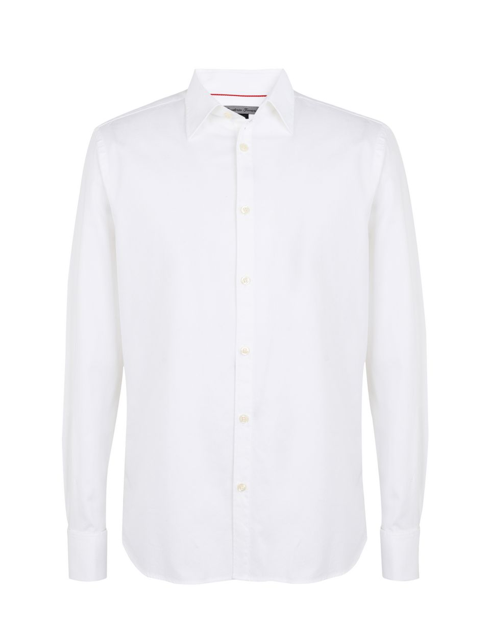 Scuderia Ferrari Online Store - Long-sleeve shirt with Italian collar - Long Sleeve Shirts