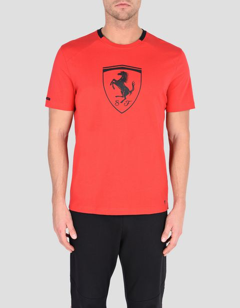 Men's short-sleeve t-shirt with black Shield
