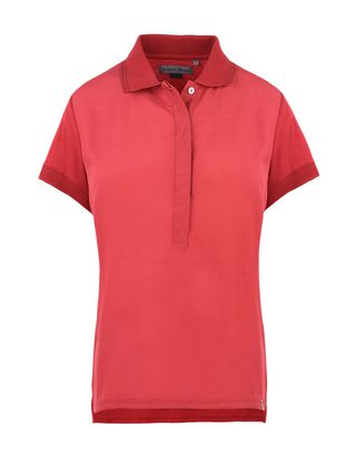 Scuderia Ferrari Online Store - Women's short-sleeve polo shirt - Short Sleeve Polos