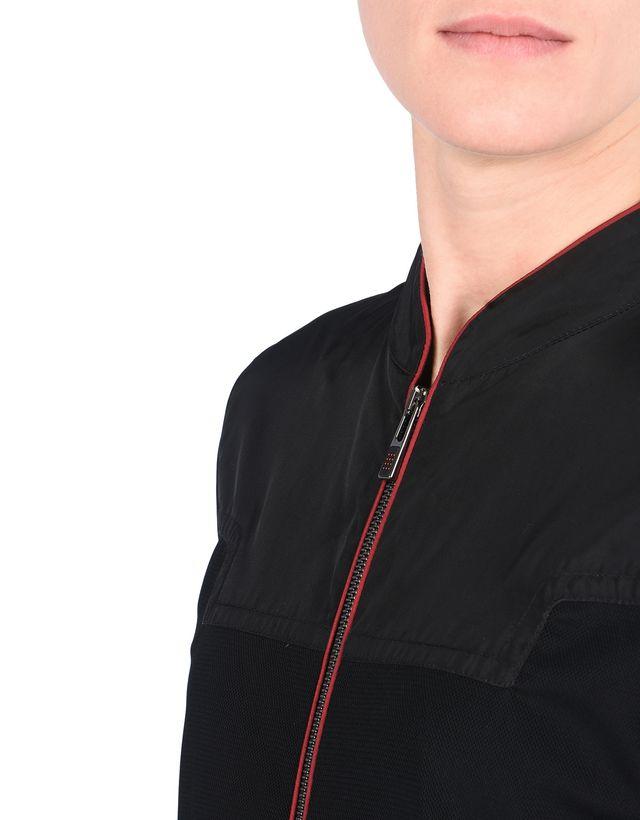 Scuderia Ferrari Online Store - Женская куртка-бомбер из нейлона - Бомберы и гоночные куртки