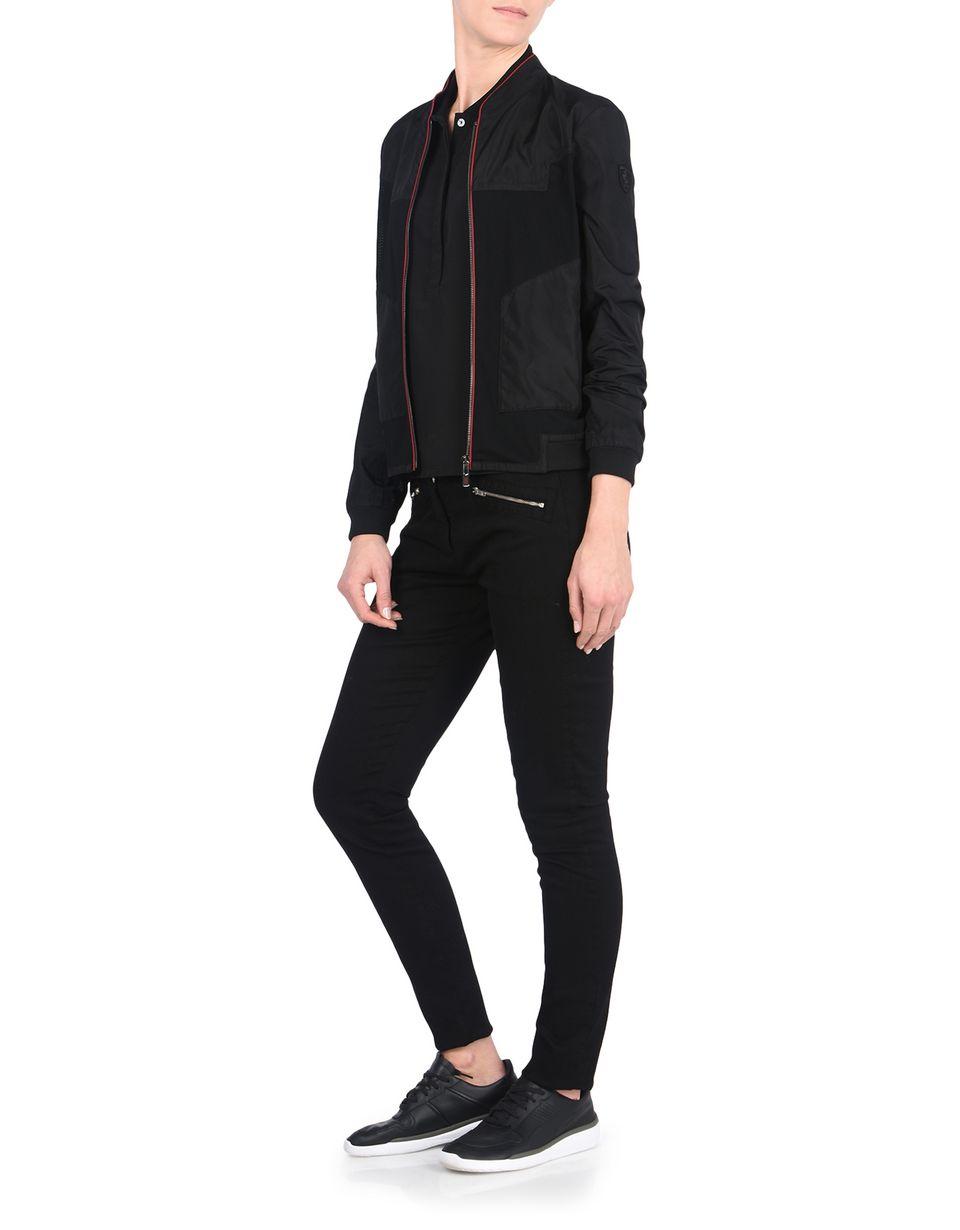 Scuderia Ferrari Online Store - Women's nylon bomber jacket - Bombers & Track Jackets