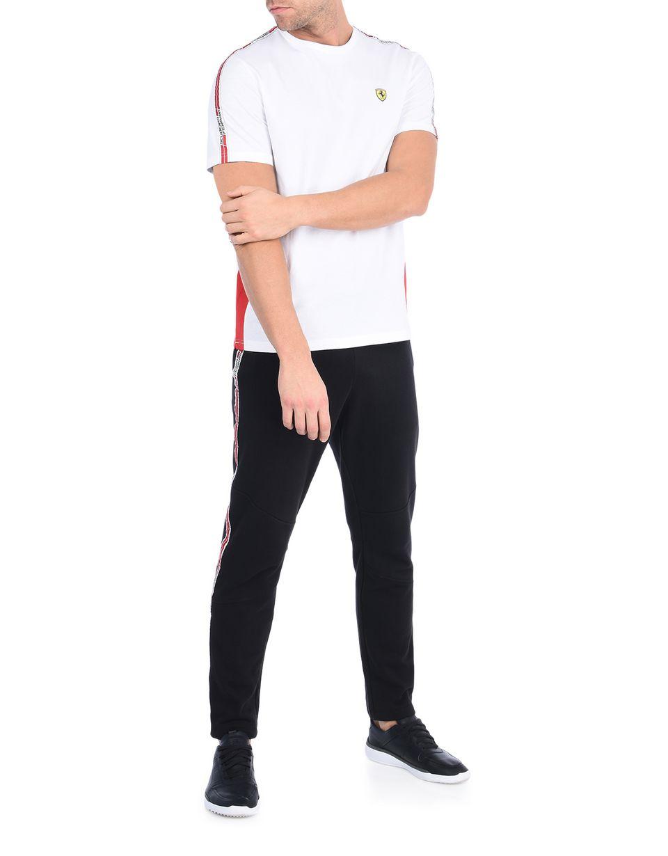 Scuderia Ferrari Online Store - T-shirt Scuderia Ferrari con Icon Tape - T-shirt manica corta