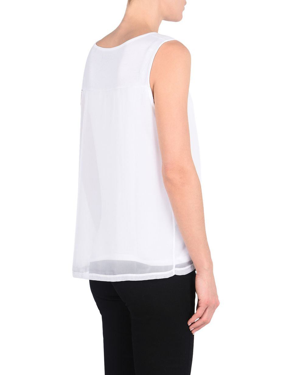 Scuderia Ferrari Online Store - Women's sleeveless top with Ferrari Shield -