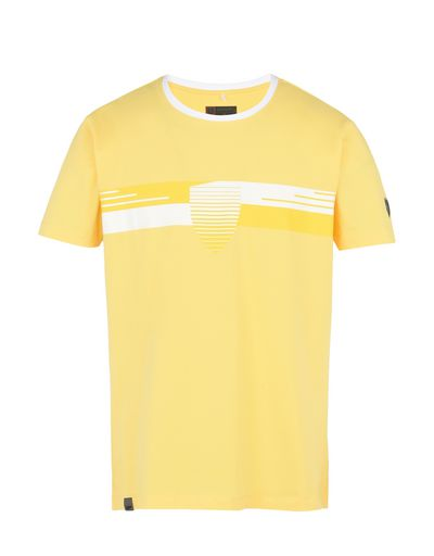 Scuderia Ferrari Online Store - Men's short-sleeve stretch cotton T-shirt - Short Sleeve T-Shirts