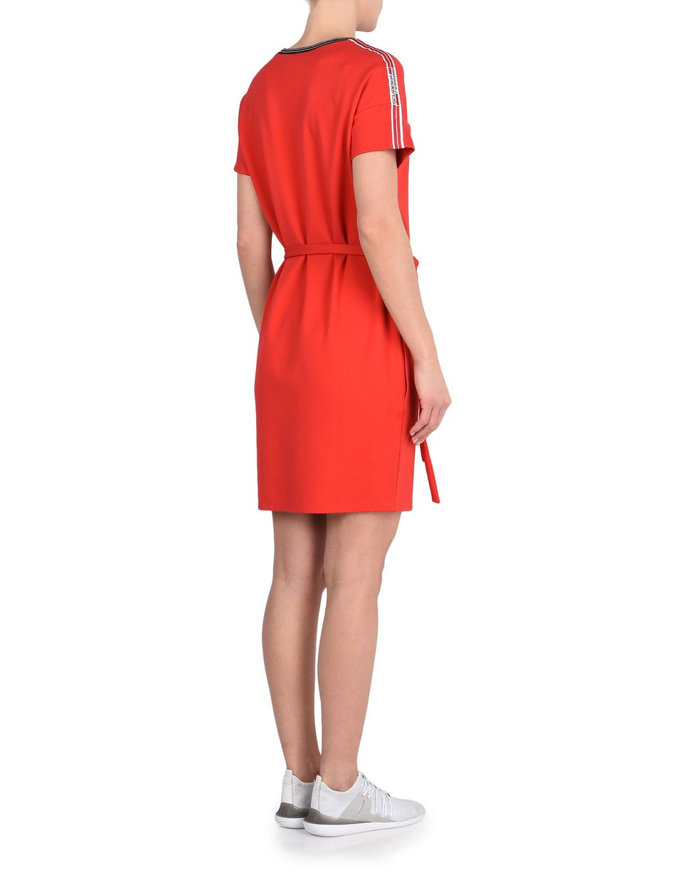 Scuderia Ferrari Online Store - Dress with Scuderia Ferrari Icon Tape -