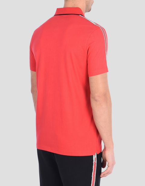 Polo shirt with Scuderia Ferrari Icon Tape