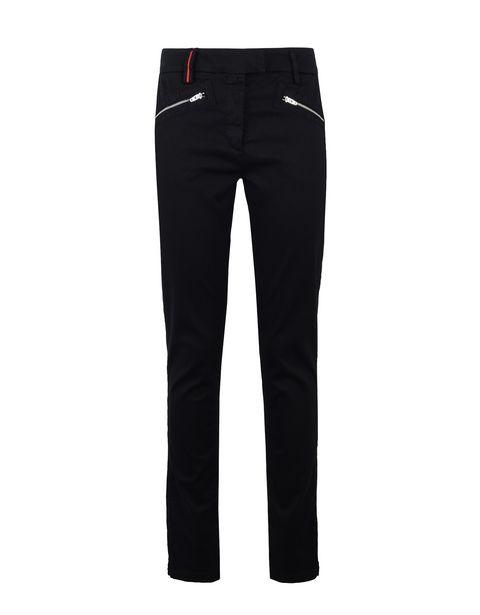 Scuderia Ferrari Online Store - Женские брюки стрейч с этикеткой Scuderia Ferrari - Брюки с 5 карманами
