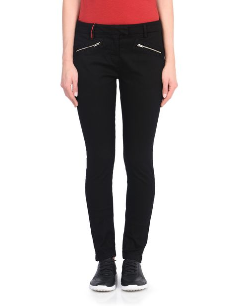 Women's stretch trousers with Scuderia Ferrari label