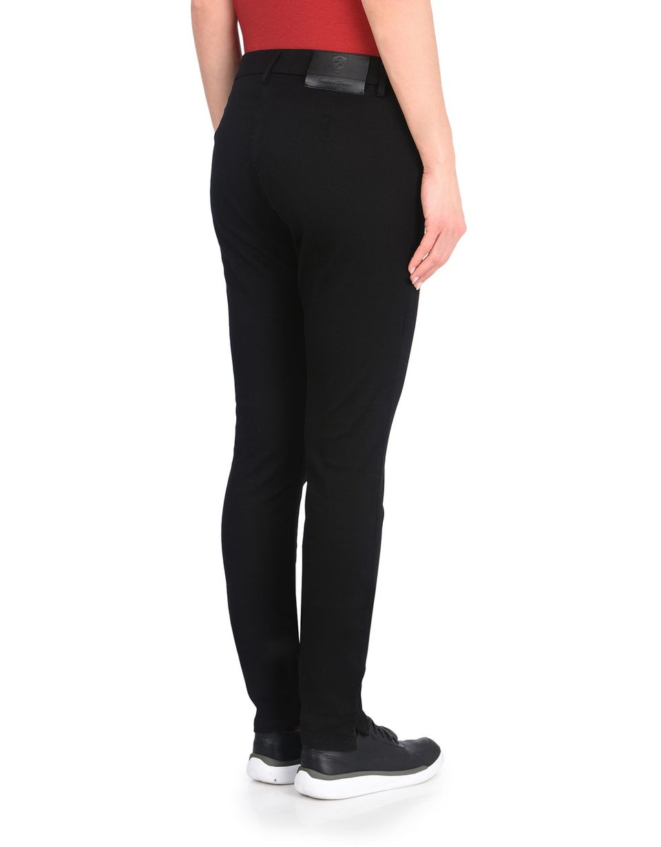 Scuderia Ferrari Online Store - Women's stretch pants with Scuderia Ferrari label - 5-pocket-pants