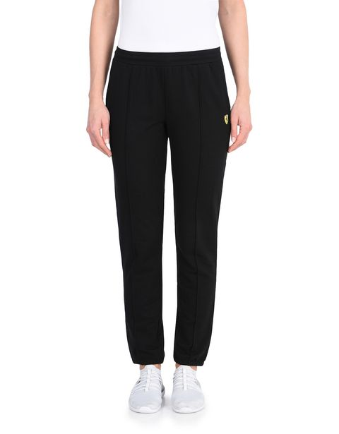 Women's rib knit fleece pants