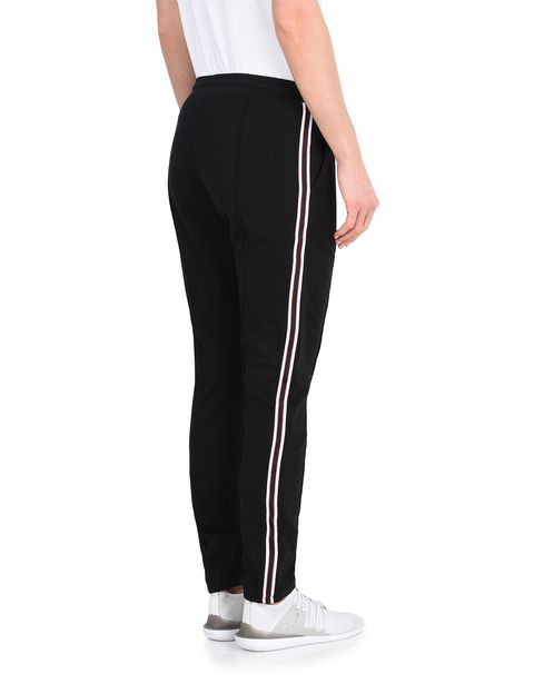Women's rib knit fleece trousers