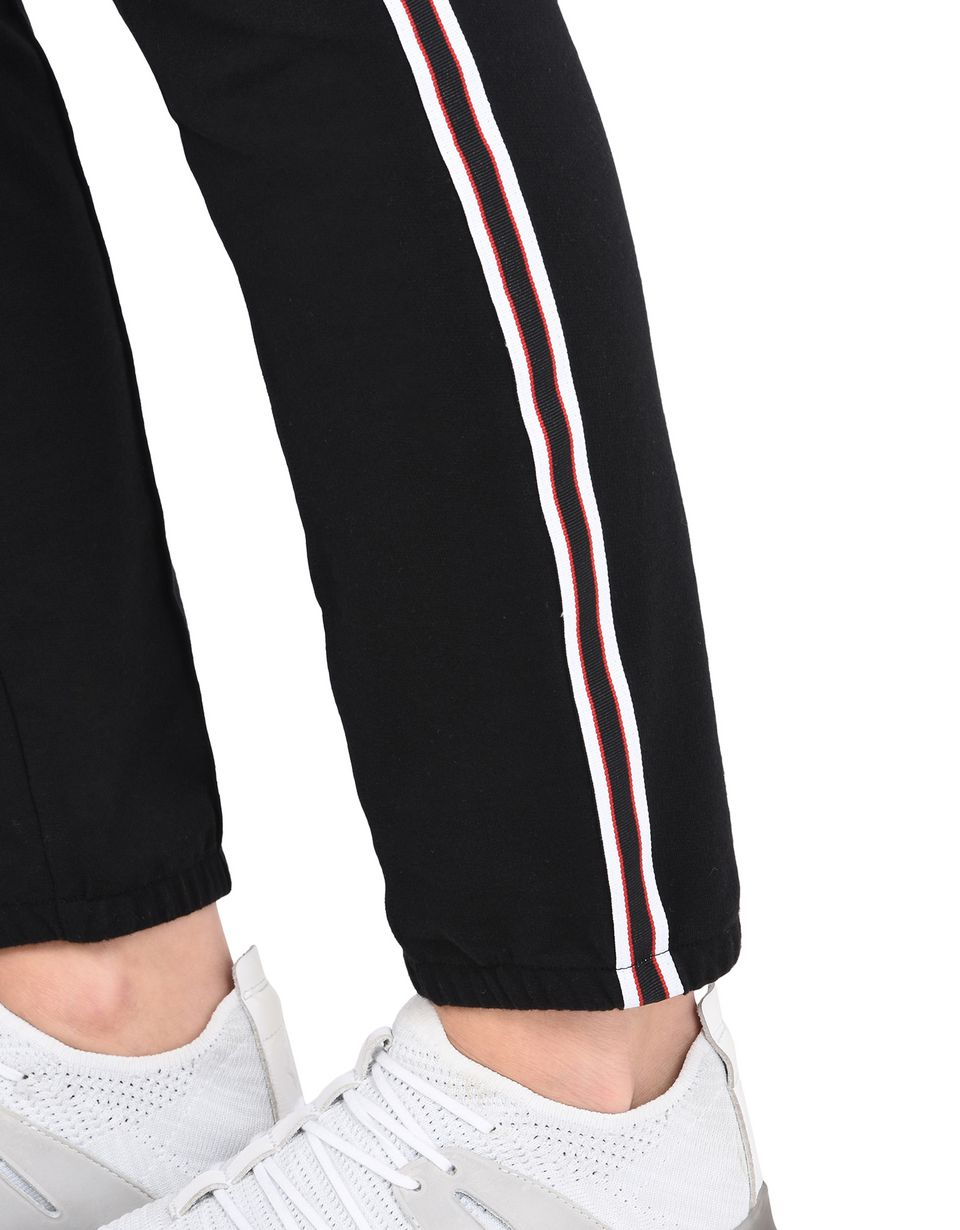 Scuderia Ferrari Online Store - Women's rib knit fleece trousers -