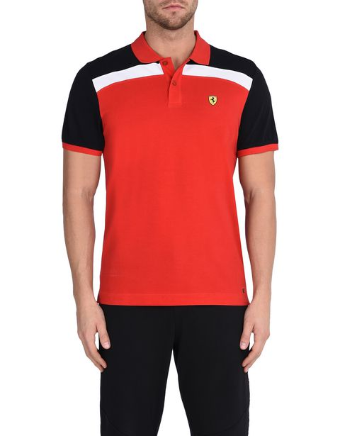 Short-sleeve polo shirt with Shield on the breast