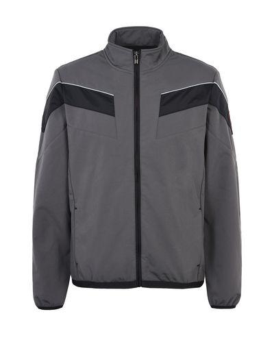 Scuderia Ferrari Online Store - Softshell jacket with Ferrari Shield - Bombers & Track Jackets