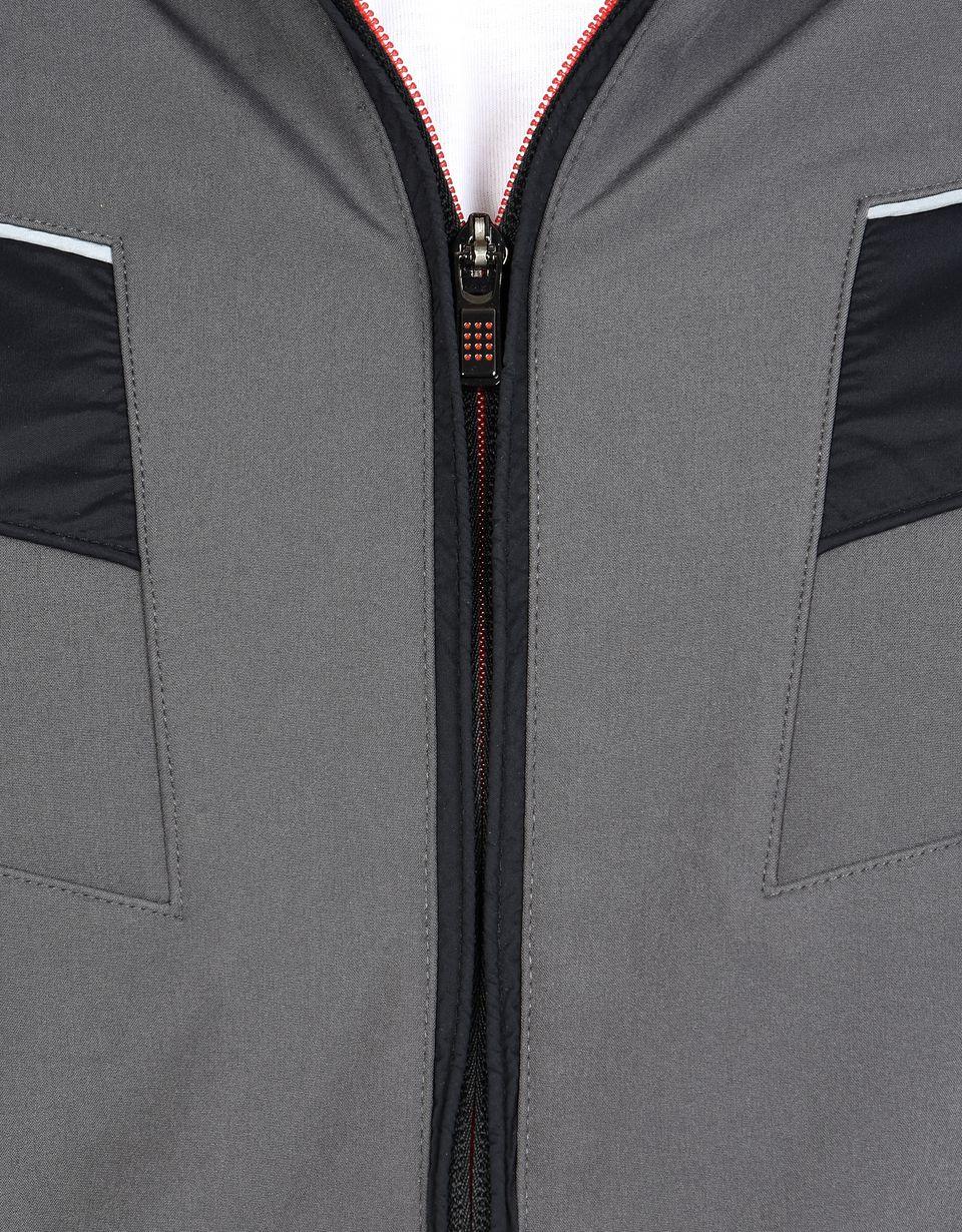 Scuderia Ferrari Online Store - Veste en tissu Softshell avec Scudetto Ferrari - Bombers et vestes de sport